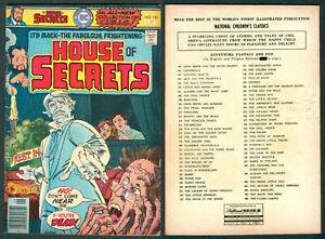 1976 Philippines NATIONAL DC The House Of Secrets Vol. 19 No. 141 COMICS