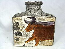 "Rare 70´s design Scheurich Keramik pottery Fat Lava vase "" Montignac "" 281-19"