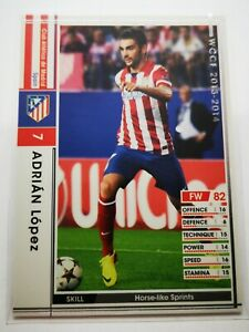 Panini 2013-14 WCCF IC carte card soccer Atlético de Madrid 222/385 Adrian Lopez