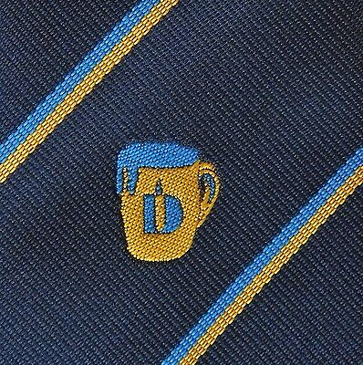 Brewery Hygiene Diversey Inc. vintage Corporate Tootal tie Beer Chemicals  1980s