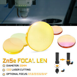 ZnSe-Focal-Lens-for-CO2-Laser-Cutting-Dia-20-mm-focus-1-034-1-5-034-2-034-2-5-034-3-034-4-034