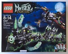 Lego Monster Fighters 9467 The Ghost Train New In Factory Sealed Box