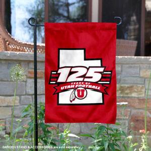 """Utah Utes 12/"""" X 30/"""" 125 Years of Football Pennant"""