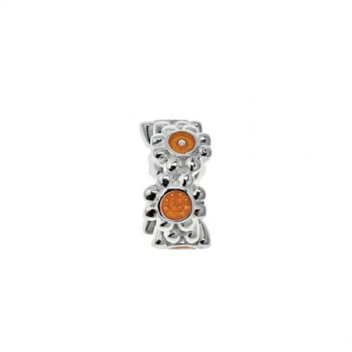 Genuine Lovelinks Sterling Silver Blue Orange 11821375-97 Bracelet Charm