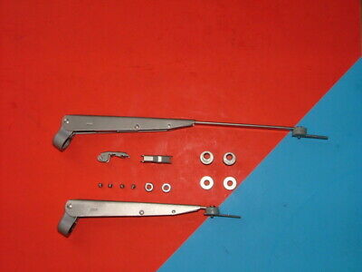 1975-1987 Volvo 245 Wagon Stainless Steel Wiper Arms Anco Brand Name USA Made