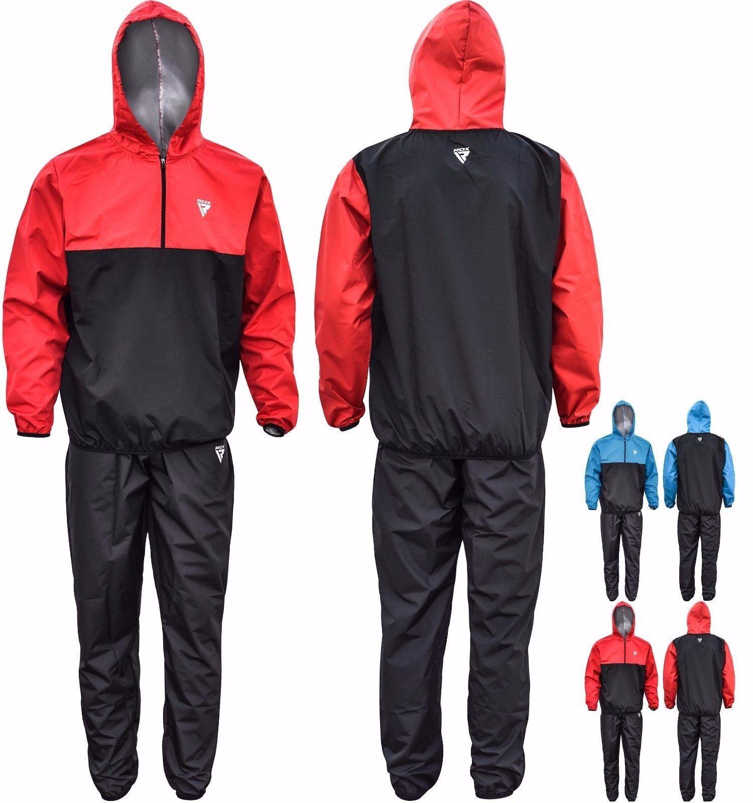 RDX Sweatanzug Sauna Suit Sport Saunaanzug Training Laufen Gewichtsverlust SW