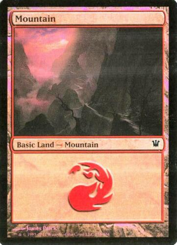 Innistrad Mountain #259-2X NM Foil MTG