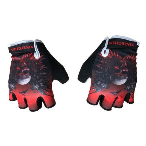 Team ride Sport Breathable Cycling Glove Bike Bicycle GEL Pad Half Finger Glove