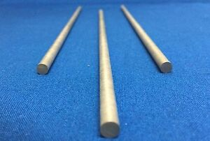"Torrey Hills Tech Moly Molybdenum Rod Polished 0.25 /"" D L x12/"""