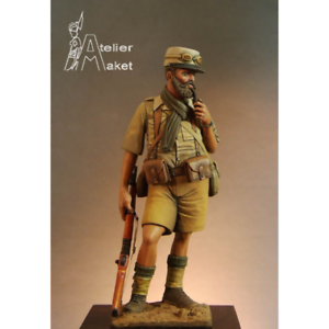 Atelier Maket French Foreign Legion FFL WW2 75mm Model Unpainted Metal Kit