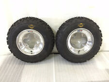 """DWT A5 Wheels and MXF 20"""" Front Tires Mounted 20x6x10 MX Honda 450R 250R 400EX"""