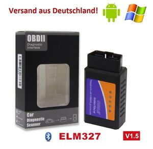 elm327 bluetooth obd2 eobd diagnoseger t scanner kfz. Black Bedroom Furniture Sets. Home Design Ideas