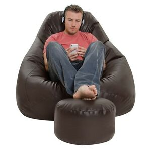 Free-Footrest-with-XXXL-Bean-Bag-cover-Only-without-beans
