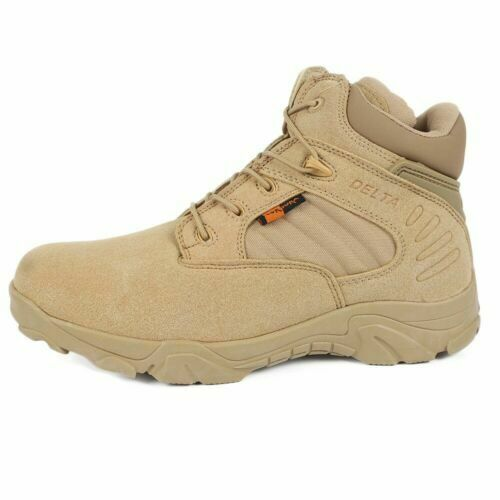 Military Tactical Boots Waterproof Hiking Combat Boots Army Work Boots UK Size