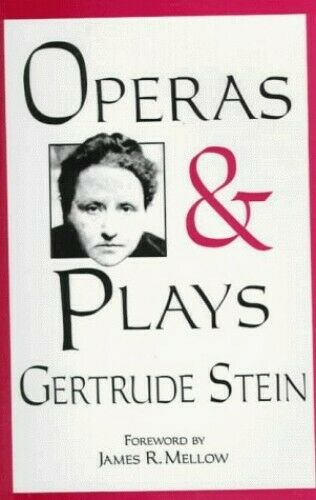 Operas and Plays by Stein, Gertrude Paperback Book The Fast Free Shipping