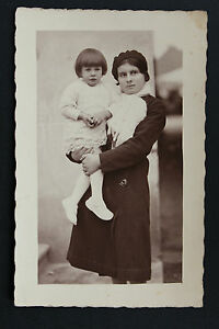 Postcard-Antique-CPA-Animated-Photo-Portrait-Bust