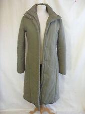 Ladies Coat - MNG, size M, khaki, padded, polyester, waterproof zip up warm 2395