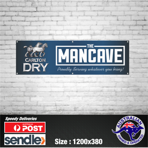 Carlton-Dry-Banner-The-Mancave-Bar-Beer-Spirits-Shed-Aussie-man-shed-straya