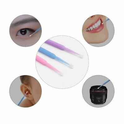 100Pcs Durable Eyelash Beauty Cotton Swab Disposable Material Dental Micro-Brush
