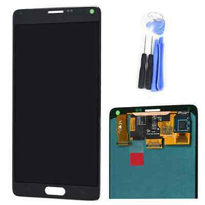 LCD Display Assembly Touch Screen Digitizer Glass For Samsung Galaxy Note 4 Gray