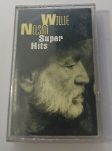Willie Nelson Cassette Super Hits 1994 Sony Music Tape