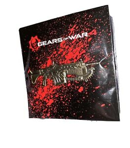 Gears of War 4 Exclusive Collector's Edition Gold Lancer Pin Loot Crate NEW