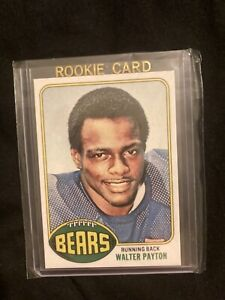 1976 Topps Walter Payton rookie REPRINT (RP) card Chicago Bears Hall of Fame