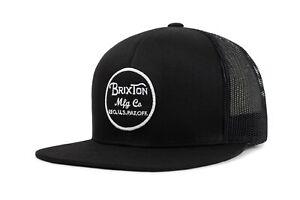 BRIXTON-WHEELER-MESH-SNAPBACK-CAP-NEU-BLACK-BLACK-BRIXTON-SUPPLY
