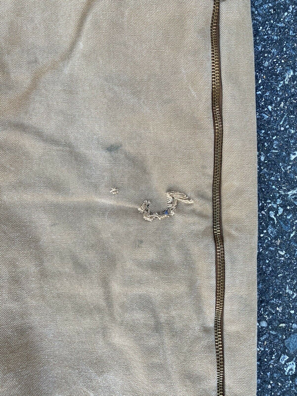 DICKIES INSULATED BIB OVERALLS DUCK BROWN SIZE 42… - image 4