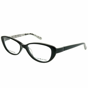 Kate-Spade-Finley-W08-Black-Plastic-Cat-Eye-Eyeglasses-51mm