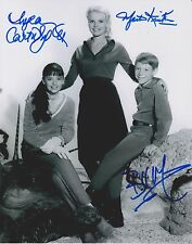 Bill Mumy Angela Cartwright & Marta Kristen Signed Photo - Lost in Space - RARE!