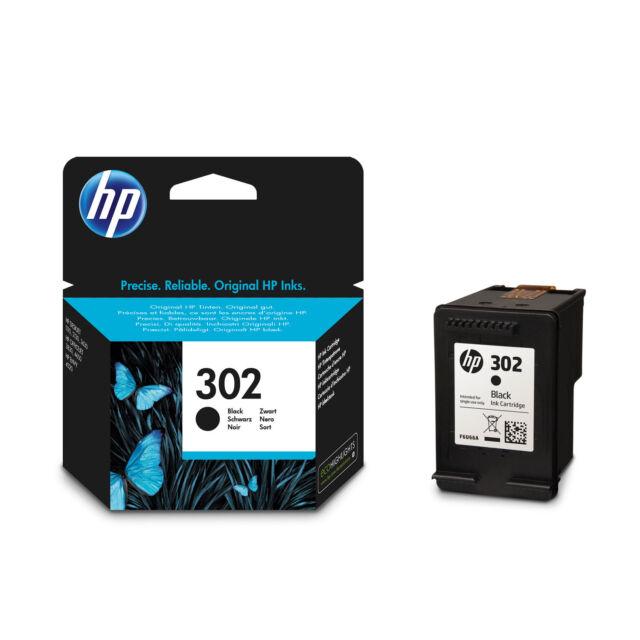CARTOUCHE HP NOIRE 302 / f6u66ae noir  pas xl couleur pour deskjet 1120 2130 363