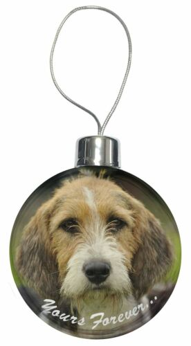 "Welsh Fox Terrier Dog ""Yours Forever"" Christmas Tree Bauble Decora, ADFT4yCB"