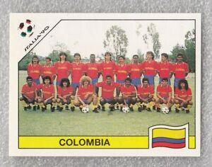 Sticker football Colombia team Renne Higuita FIFA WC Italia 1990 Panini #289