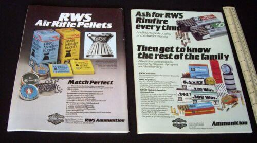 1984 Sporting AIR FUCILE Magazine numeri 1 /& 2 inutilizzato vecchio magazzino Field Target