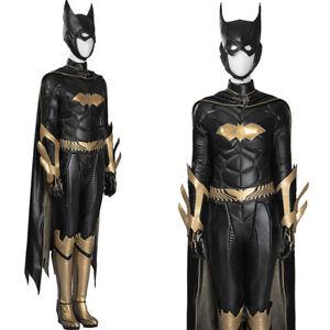 Custom Made Women Batman Arkham Knight Batgirl Cosplay Costume Outfit Halloween