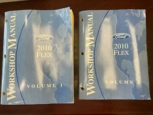 2010 Ford Flex Vol 1&2 Workshop Manuals | eBay