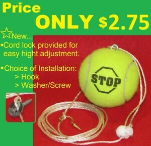 Tennis Ball Garage Stop Parking Marker Easy Parking Guide Reliable
