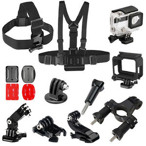 Accessories-set-for-Gopro-go-pro-hero-3-4-6-5-Session-SJCAM-Xiaomi-yi-Kit-Mount