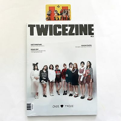 Twice Coaster Lane2 Knock Knock Pop-Up Store Official Twicezine Vol.1+Photocard