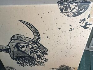 BOX and FOAM ONLY HasLab Unicron Transformer:War For Cybertron Hasbro