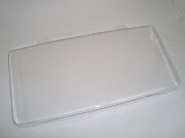 NEW CLEAR CORVETTE C4 License Plate Cover CHEVROLET GRAND SPORT ZL1 Z06 84-90