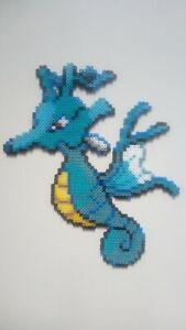 Details About Hyporoi Pokemon Eaudragon 2eme Génération Perler Beads Pixel Art