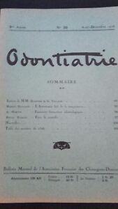 Rivista-Mensile-Odontiatrie-N-30-3-Eme-Anni-1926-ABE