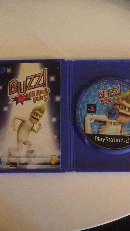 Buzz The Music quiz, PS2