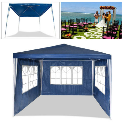 3x3m Festzelt Stabiles hochwertiges Pavillon Partyzelt Gartenzelt PE
