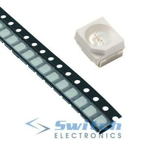 3528 SMD Surface Mount LED SMT PLCC-2 - White Red Blue Green Yellow Amber RGB