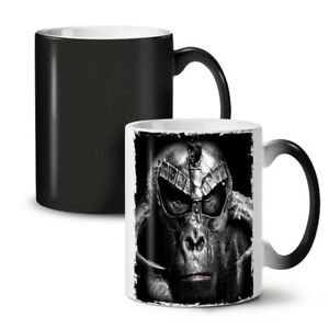 Ape Beast Warrior NEW Colour Changing Tea Coffee Mug 11 oz | Wellcoda