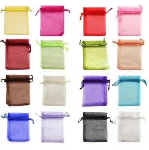 Mail pro1-Decorative bags 9x12 cm Organza Confetti Confit BOM E.S