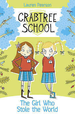 1 of 1 - The Girl Who Stole the World (Crabtree School)-ExLibrary